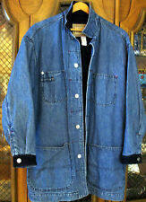 Calvin Klein American Classic MediumWeight Denim Jacket Cotton Coat MISSES SMALL