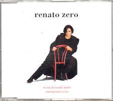 RENATO ZERO CD SINGLE 2 TRACCE Si sta facendo notte + Emergenza noia