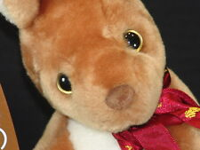 BOOMERANG AUSTRALIAN VACATION KANGAROO JOEY SOUVENIR STUFFED ANIMAL PLUSH TOY
