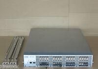 EMC DS-4900B Brocade 4900 64 Port 4Gbps FC Fibre Channel SAN Switch + GBIC