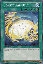3x Constellar Belt - GAOV-EN064 - Common - 1st Edition YuGiOh NM GAOV - Galactic