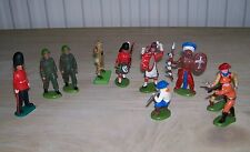 Assortment Of 10 Britains Figures From The 1970s