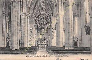 CPA 49540 MARTIGNé BRIAND intérieur Eglise Edit GOUBIN FAURE