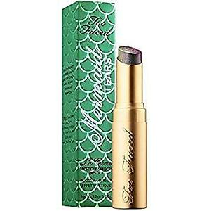 NIB TOO FACED La Creme Mystical Effects Lipstick MERMAID TEARS 0.11 oz