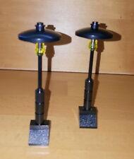Lego City Straßenlaternen street lamp Beleuchtung Lampen Baustelle 2 Stück 99F