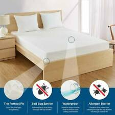 Single , Double , King Waterproof Mattress Protector Non-Allergenic Fitted Sheet