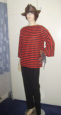MENS FREDDY KRUEGER NIGHTMARE ON ELM STREET FANCY DRESS COSTUME M USED