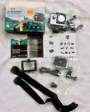 DIGIEYE 720p Waterproof Action Camera with Accessories BNIB