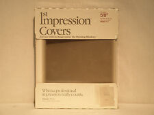 "Avery 1st Impression 03-535 5/8"" Classic White Thermal Binding Covers"