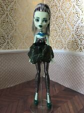 Frankie Stein Repaint OOAK DOTD Dawn Dance Fright Away Monster High Doll