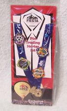 2017 ALBUQUERQUE FIESTA PIN TRADING LANYARD WITH 5 EXCLUSIVE COLLECTOR'S PINS