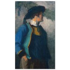 Franz Moritz Wilhelm Marc, Selbstportrait in bretonischer Tracht, Poster