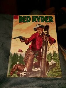 Red Ryder Comics #133 dell 1954 golden age precode western ranch movie star
