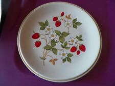 Sheffield dinner plate (Strawberries and Cream) 1 available