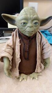 "Vintage 2004 Star Wars Electronic ""Ask Yoda"""