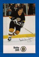 ESSO Oil Co. HOCKEY CARD BOBBY ORR BOSTON BRUINS NM MINT