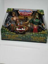 Snake Men He-Man & King HSSSS Armor MOTU, MASTERS OF THE UNIVERSE CLASSICS