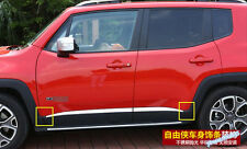 For Jeep Renegade 2015-2018 Side Door Molding Body Strip Streamer Cover Trim Kit