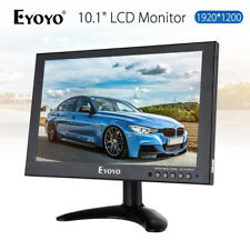 "EYOYO 10"" IPS LED HD 1920x1200 VGA AV HDMI LCD Monitor Video for Security CCTV"