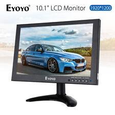 "EYOYO 10"" IPS HD 1920*1200 VGA AV HDMI LCD Monitor for Surveillance CCTV Laptop"