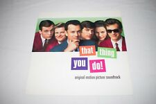 That Thing You Do! Soundtrack Promo Flat 12x12 Poster The Oneders Tom Hanks
