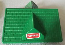 Lincoln Logs Replacement Building Parts ~ Playskool Green Roof Lid