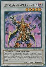 1x  Moderately Played Legendary Six Samurai - Shi En - RYMP-ENSE1 - Super Rare -