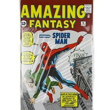 More details for marvel amazing fantasy spider-man comic issue 15 a4 lined notebook journal