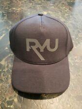 NWT RYU Respect Your Universe Black MMA Baseball Hat Cap FlexFit Street Fighter