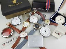 Lot vintage watches Tag Heuer Rolex Tissot stopwatch stop watch Waltham estate