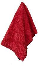 "Janey Lynn Designs Cha Cha Chili Red 28"" x 19"" Cotton Chenille Shaggie Towel"
