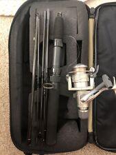 Shimano Sidestab 2000 Reel, Pole, and Bag