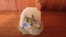 Vintage 1994 Handmade English Porcelain Lilliput Lane - Petticoat Cottage