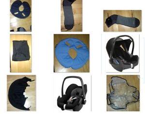 Maxi Cosi Cabriofix / Pebble baby car seat infant Spare part - USED