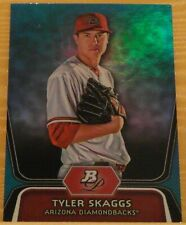 2012 Bowman Platinum National Convention Tyler Skaggs Blue Refractor /499 RC