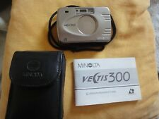 Minolta Vectis 300, Panorama-Kamera, mit Etui u. Bändel