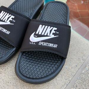 Nike BENASSI JDI Slides Sandals Slippers TXT SE