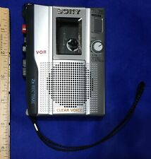 Sony TCM-200DV Handheld Voice Recorder Cassette VOR Clear Voice Player Tested