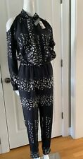 Anthropologie Twelfth Street Cynthia Vincent Florence Printed Jumper Size Small