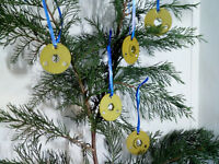 AVRO Vulcan B2 - Christmas Tree Decorations ~ Ring Lock ~ Pack of 5 ~ 26DC/11698
