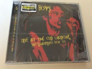 DEAD BOYS LIVE AT THE OLD WAIDORF SAN FRANCISCO 1977 CD ALBUM NEW AND SEALED.H1
