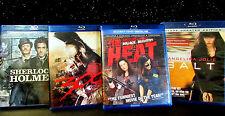 4-BLU-RAY-DVD-DIGITAL-HD-THE-HEAT-300-SHERLOCK-HOLMES-AND-SALT