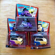 Disney PIXAR Cars 2 KIMURA KAIZO KINGPIN NOBUNAGA PINION TANAKA Sumo lot #5 7 11