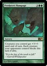 PREDATORY RAMPAGE M13 Magic 2013 MTG Green Sorcery RARE