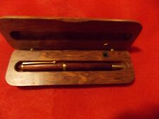 Vintage  MARKSMAN Pencil  Pen Box Holder Cover