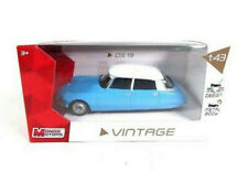 1/43 Mondo Motors Voiture Miniature Citroën DS 19 Vintage Collection Neuf