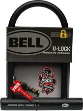 Bell U-Lock Catalyst 300 Bicycle Lock, 12mm Hardened Steel with 2 Keys, Level 4