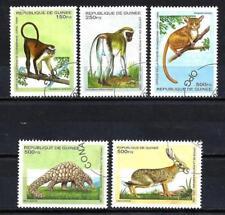 Guinée 1995 Animaux sauvages (114) Yvert n° 1051L à 1051Q oblitéré used