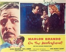 ON THE WATERFRONT: Eva Marie Saint Autographed 8x10 Promo Poster. Includes COA.