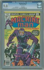 Machine Man # 1 CGC 9.8 NM/MT Jack Kirby 1978